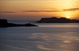 Sunset on the West Coast of Skye
