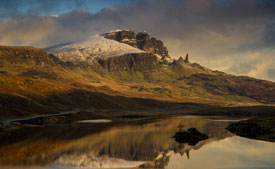 The Old Man of Storr near Staffin.