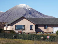 Clisham by Broadford on Skye. Bed & Breakfast.