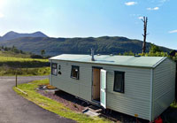 Skye Caravan - Self Catering in Luib on Skye.