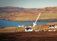 Chelister self catering in Carbost on Skye.