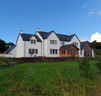 Redwood House Hotel by Loch Greshornish on Skye