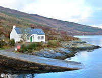 House on the the Slip in Kylerhea.