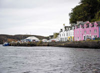 The Pink Guest House Portree B&B.