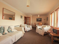 Central Portree Apartment 4 star self catering.