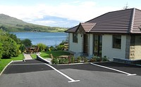 The Cottage Willowbank in Portree on the Isle of Skye.