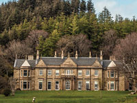Raasay House Hotel near Skye in Scotland.
