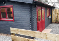 Cosy Cabin | Skeabost Self Catering
