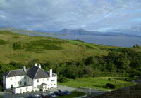 Toravaig House Hotel in South Skye on the West Coast of Scotland.