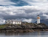 Eilean Sionnach Lighthouse Cottage | Self Catering