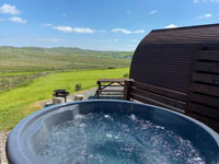 Shulista Croft Self Catering Wigwams North Skye.