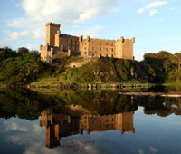 Dunvegan Castle and Gardens on the Isle of Skye.