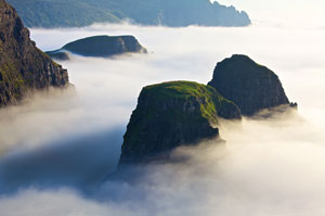 The Misty Isle on the west coast of Scotland.