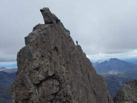 Inaccessible Pinnacle Cuillin