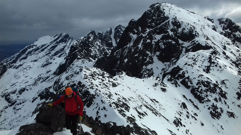 Winter Cuillin Climb