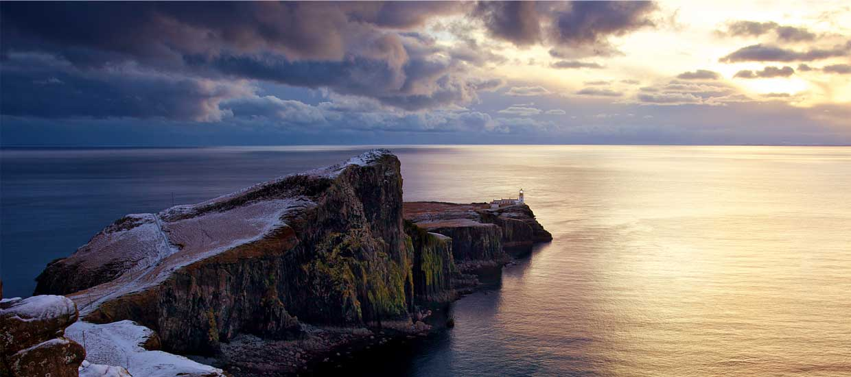Neist Point Lighthouse on the Isle of Skye