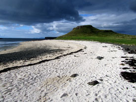 Coral Beach on Skye.