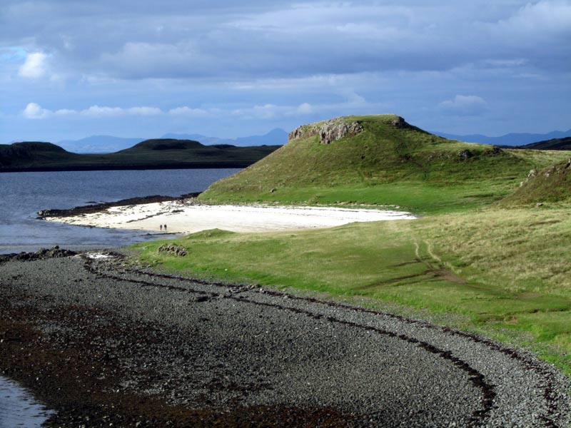 Coral Beach Walk Claigan Dunvegan Isle Of Skye
