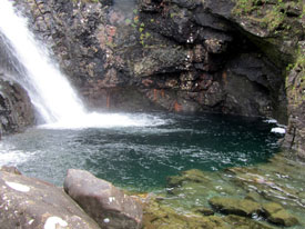 Fairy Pools on Skye walk