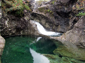 Natural Arch at the Isle of Skye Fairy Pools