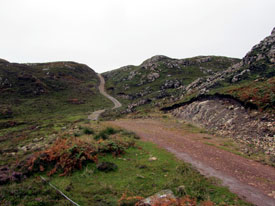 Path leading to Point of Sleat on Skye.