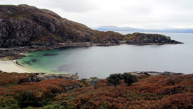 Beach at Point of Sleat on Skye.