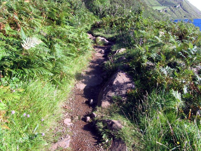 Scorrybreac Walk In Portree On The Isle Of Skye In Scotland