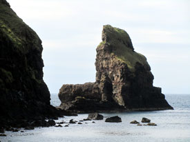 Cliffs at Talisker on Skye.