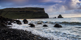 Waves at Talisker Beach.